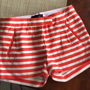 High Waist Striped Shorts!